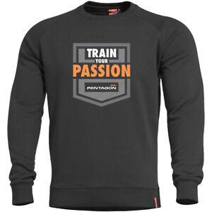 Pentagon Hawk Sweater Mens Para Bellum Hiking Training Gym Work Outdoor Black