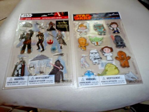 2 Packs Star Wars Epoxy Stickers from Hallmark