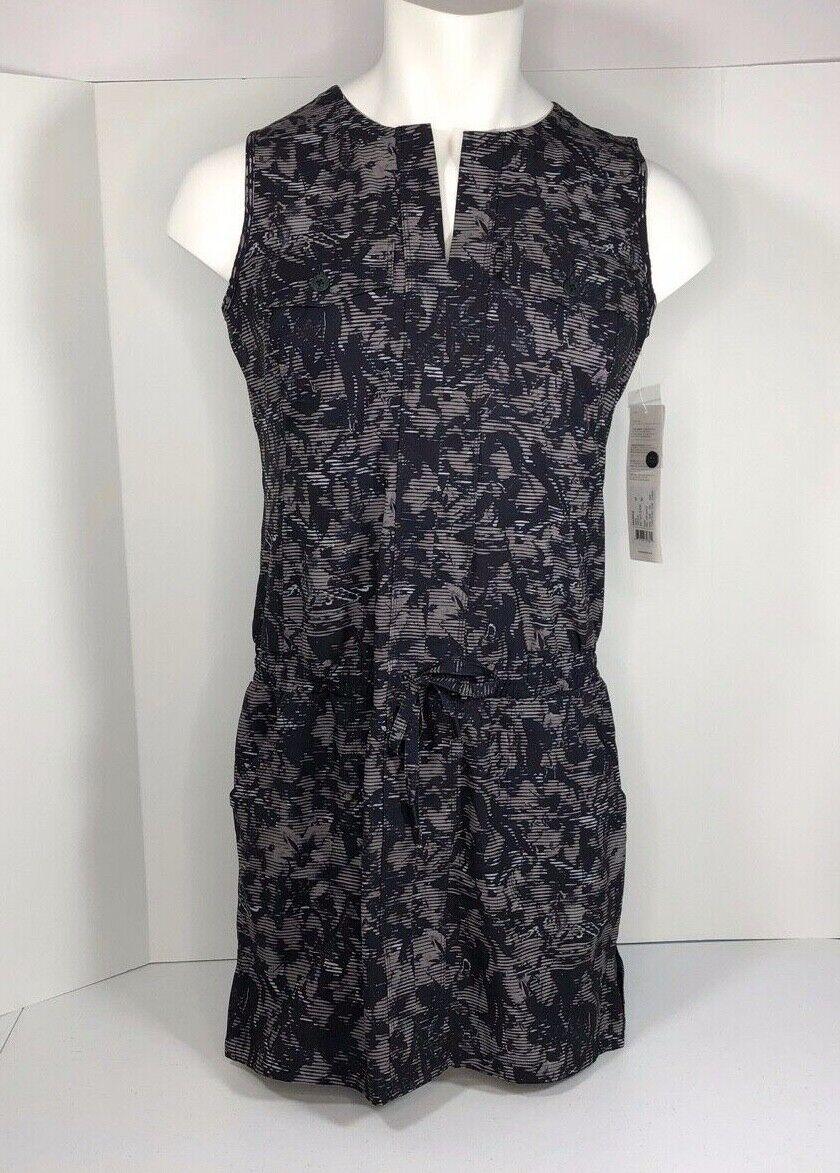 Lole damen marina dress Größe medium Farbe schwarz digifleur