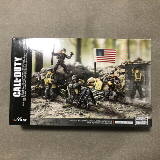 Mega Construx Call of Duty Classic Infantry Pack Legends
