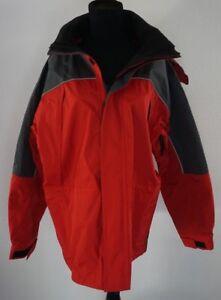 M Primavera Rojo Jacket Otoño medio Windbreaker Peso Gris Marlboro Mens fAxwtSx