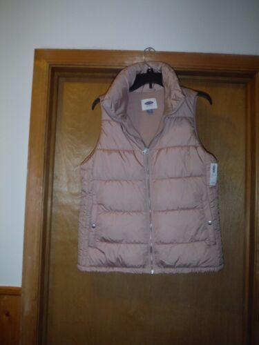 2 side pockets,Some nice Color Women;s Puffer Vests Old Navy 2XL,XL,M,Full Zip