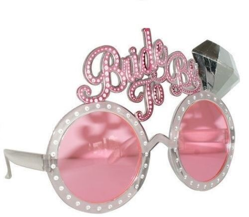 NOVELTIES /& FAVOURS /'BRIDE TO BE/' GLASSES HEN NIGHT PARTY ACCESSORIES
