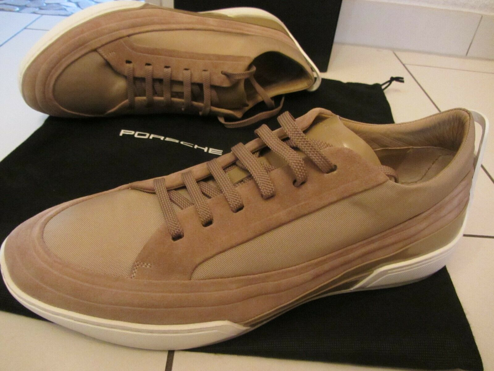 PORSCHE DESIGN Berlino Low Suede   46  ABSOLUTE EXTRAKLASSE     4037