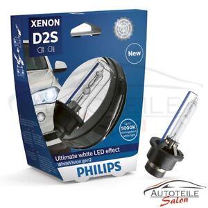 Philips D2S WhiteVision gen2 +120% 85122WHV2S1