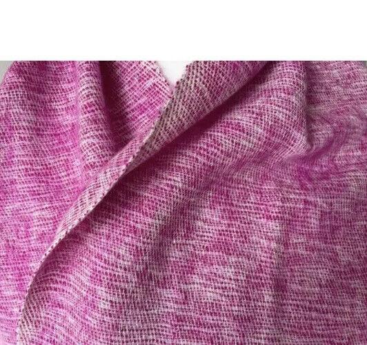 Manta Cobertor de envoltura de gran tamaño Yak Lana hecho en Katmandú defecto Aprox 46
