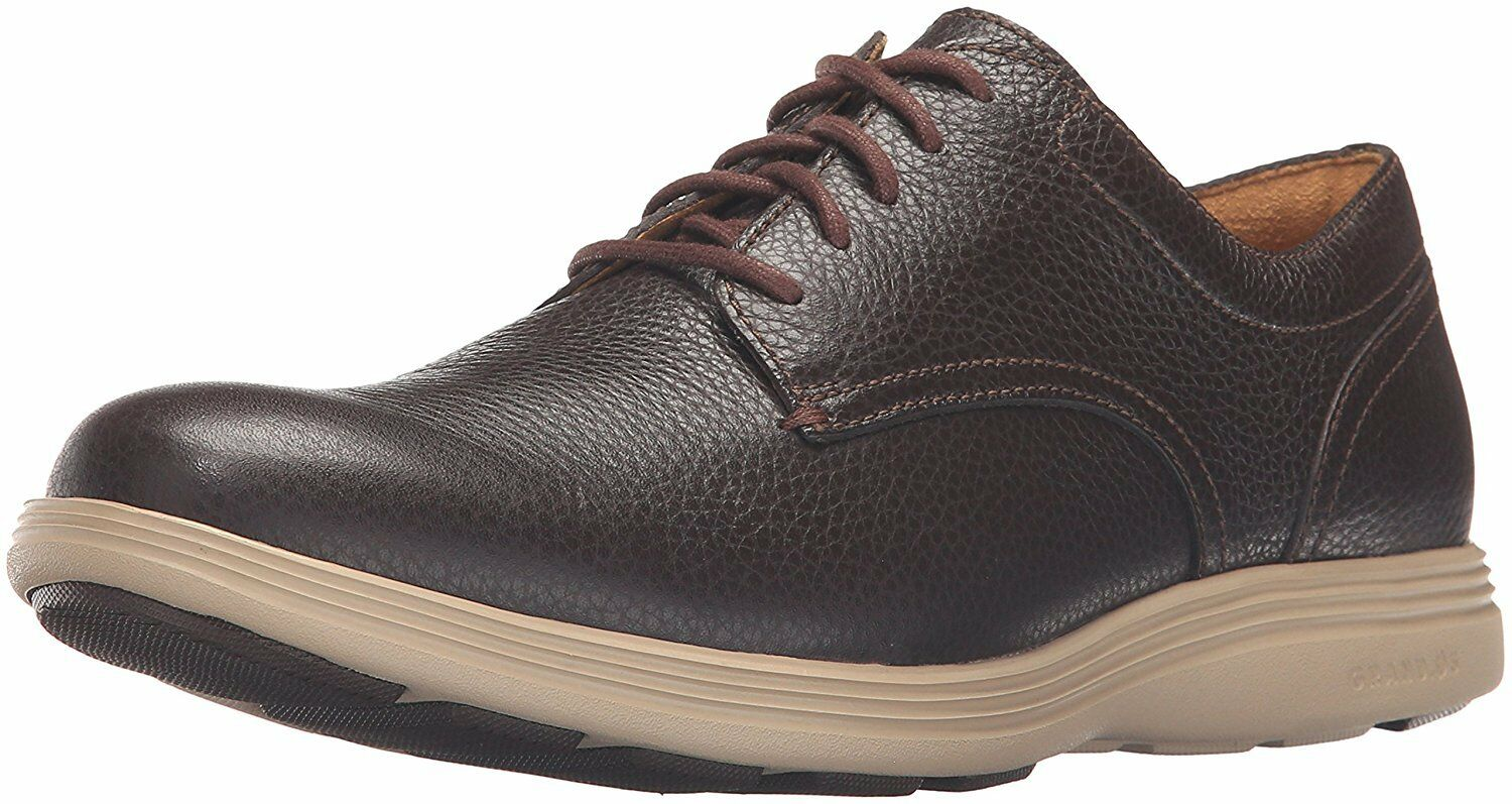 Cole Haan Men's Grand Tour Plain Oxford  Java  Cobblestone  marchio famoso