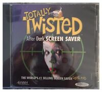 Totally Twisted: After Dark Screensaver (windows/mac, 1998) Brand Sealed