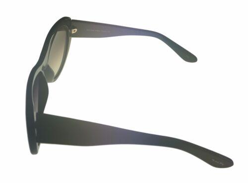 Violet Gradient Lens Lively Michael Stars Sunglass Plastic Cateye Black