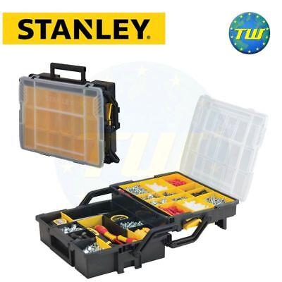 Stanley STA175540 Sortmaster Multi-Level Folding Storage Case Organiser