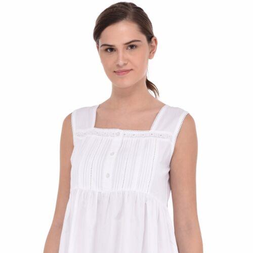 nuit pur coton blanche de en Chemise fSY5qY