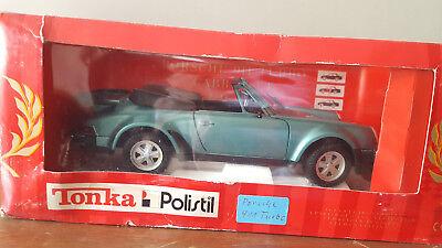 Die Cast 1:16 Porsche 911 Turbo Cabrio Tg Polistil Con Box Prezzo Pazzesco