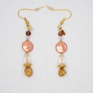 Image Is Loading Premier Designs Women Jewelry Gold Plated Drop Hoop