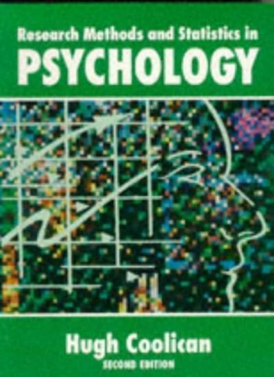 RESEARCH METHODS AND STATISTICS IN PSYCHOLOGY.,Hugh. Coolican
