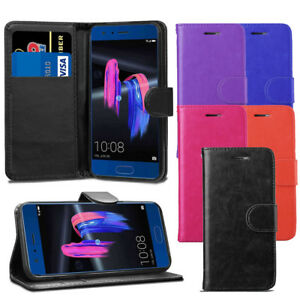 For-Huawei-Honor-9-STF-L09-Case-Premium-Leather-Wallet-Flip-Case-Cover-Screen