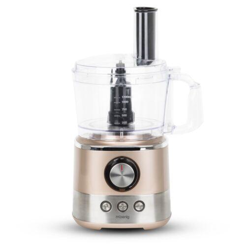 Koenig mix330 Cuisine Machine 1,2 L 1000 W 3 Fonctions 4 disques de presse-agrumes H