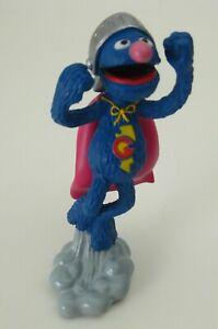 Sesame-Street-SUPER-GROVER-4-034-PVC-Figure-The-Muppets-Jim-Henson-Cake-Topper-Toy