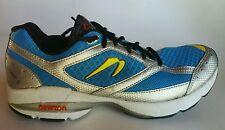 Newton Sir Isaac S Stability Running Shoes Blue/Silver Men's Sz 8.5  011913