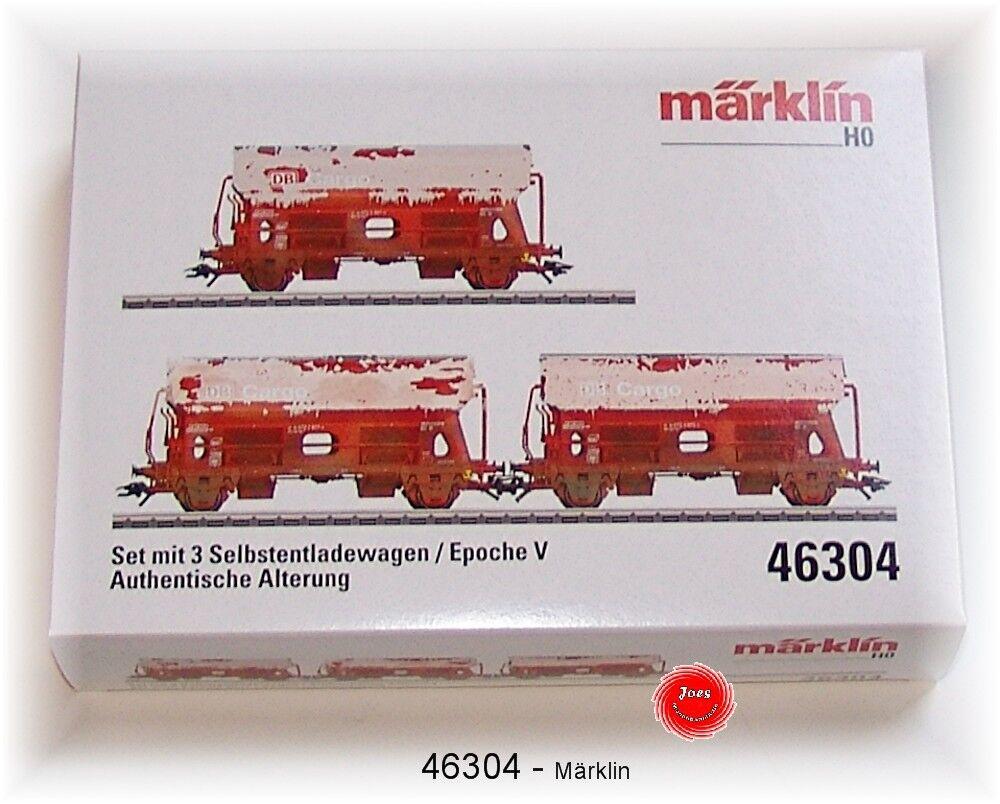 MÄRKLIN 46304 Kalkwagen-Set der DB AG gealtert 3-teilig  NEU in OVP