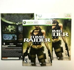 Manual And Artwork Only No Game Xbox 360 Tomb Raider