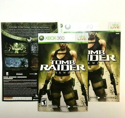 tomb raider underworld xbox 360 cover