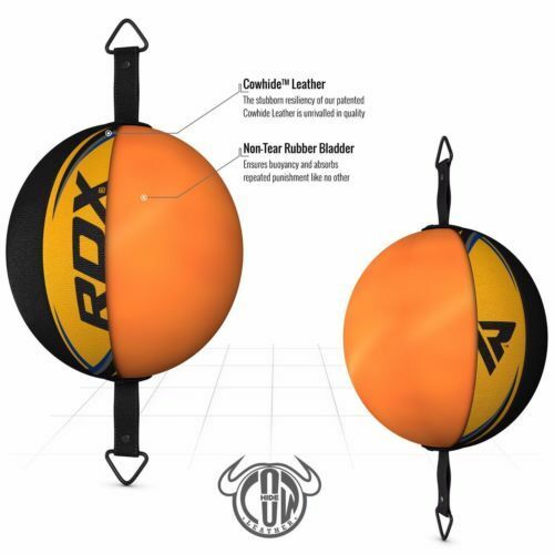 RDX Boxing Speed Ball Double End Floor To Ceiling Hook Punching Bag Training US