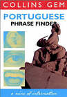 Portuguese Phrase Finder Tape Pack (Collins Gem) by HarperCollins Publishers (Paperback, 1995)