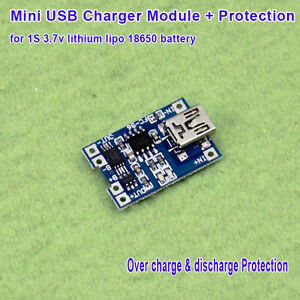 5V-Mini-USB-3-7V-Lithium-Li-ion-Lipo-Battery-Charger-Module-Charging-Protection