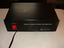 PX AV-006 Video & Audio Stereo Distributor