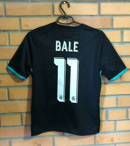 Bale Real Madrid Jersey 2018 Shirt Youth 13-14 Away B31092 Soccer Football