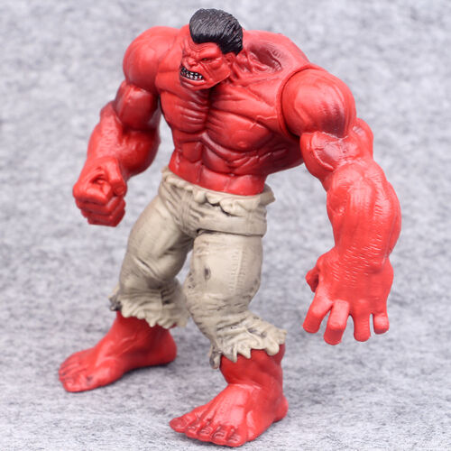 "4 pcs New The Incredible Hulk Green Red legends hulk action figure 4.3/"" Gift"