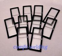 1.0-3.50 Diopter Welding Magnifier Lens, Cheater Lens Welder Helmet Glass