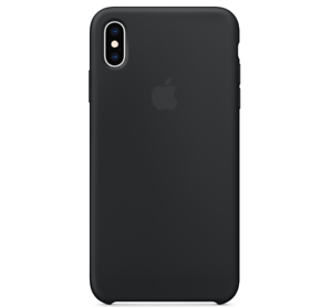 Echt-Original-Apple-iPhone-XS-Silikon-Huelle-Silicone-Case-Black-Schwarz