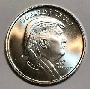 Donald Trump 1oz Silver Round .999 Fine Bullion Coin USA Mint