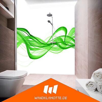 Coin duschrückwand deux plaques alu bain douche mur Villa Vechia v4