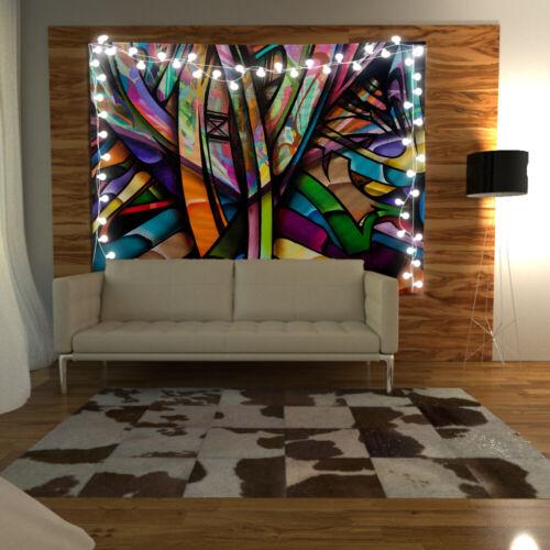 Abstract Painting Wandteppich Kunst Wandbehang Tisch Bettdecke Wohnkultur