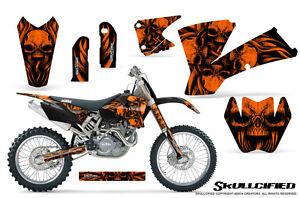 ktm 03-04 exc xc 01-02 sx 125/250/450/525/520 graphics kit