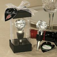 50 - Crystal Ball Design Wine Bottle Stoppers