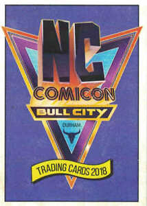 Limited-NC-Comicon-2018-Trading-Cards-Complete-42-Card-Set