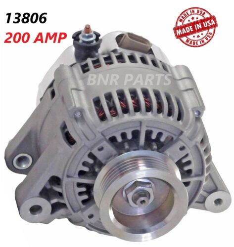 200 AMP 13806 Alternator Toyota Sienna High Output Performance HD NEW MADE IN US