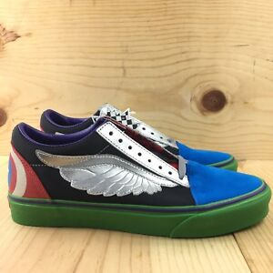 985108d4115ce8 Vans Old Skool Marvel Avengers Size 8.5 Mens Skate Shoes