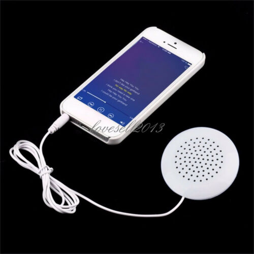 Portable 3.5mm Pillow Speaker For MP3 MP4 CD Player iPod Phone White