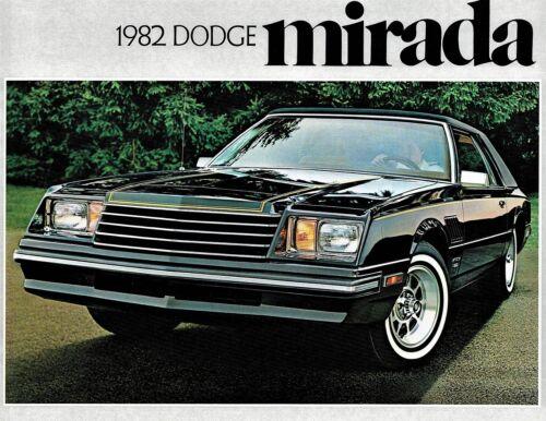 1982 Dodge Mirada Dealer Sales Brochure