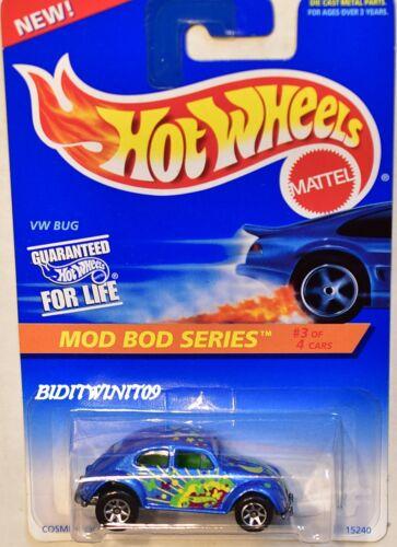 Hot Wheels 1995 Mod Bod Serie VW Käfer #398