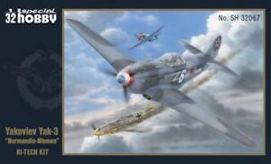 Avion De Chasse Soviétique Yakovlev Yak-3 - Kit Special Hobby 1/32 N° 32067
