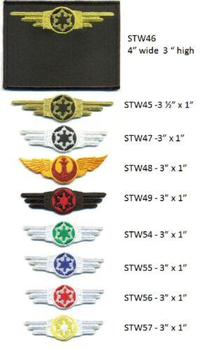 STAR WARS REBEL ALLIANCE WING PATCH STW48