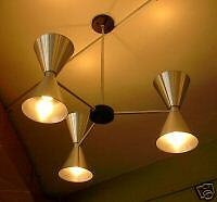 SPUN-ALUMINUM-CONE-HANG-LIGHT-MID-CENTURY-50-039-S-EAMES