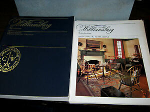 1982 williamsburg reproductions craft house furniture for Williamsburg craft house catalog