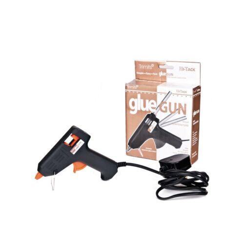 Hi-Tack Hot Glue Gun Has Stand /& 3 x 7mm Glue Sticks