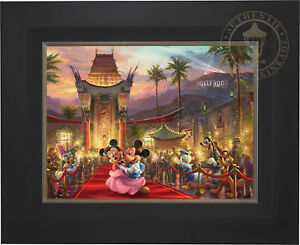 Thomas-Kinkade-Mickey-and-Minnie-in-Hollywood-18-x-24-Limited-Edition-S-N-Canvas